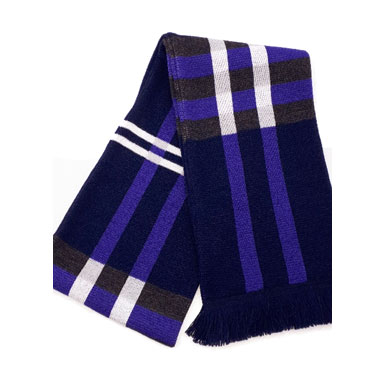 Plaid knit Scarves