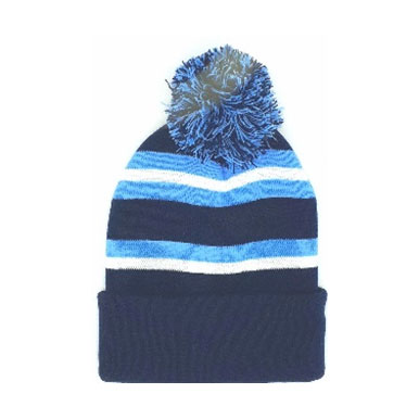 'Ratcliffe' hat with pom-pom