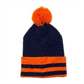 'Uppingham' hat with pom-pom